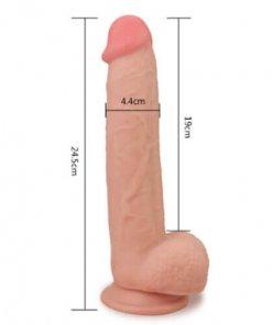 דילדו גמיש 24 סנטימטר